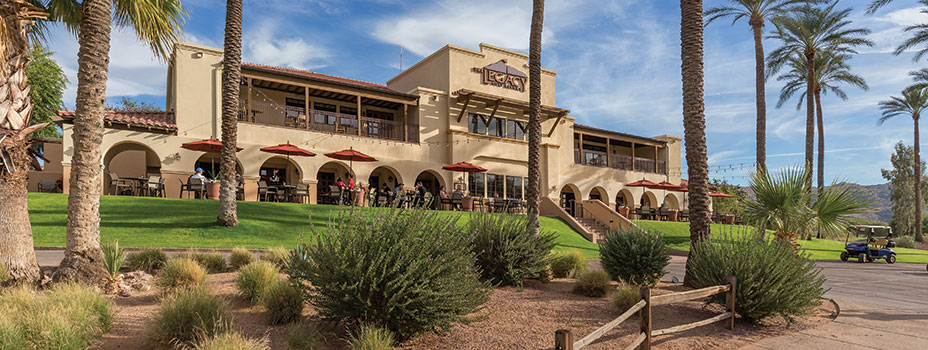 The Legacy Golf Resort Front Entrance in Phoenix, Arizona - A Shell Vacations Club Resort