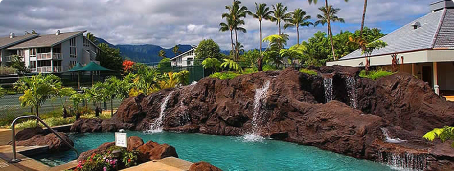 The Cliffs Club in Princeville, Hawaii